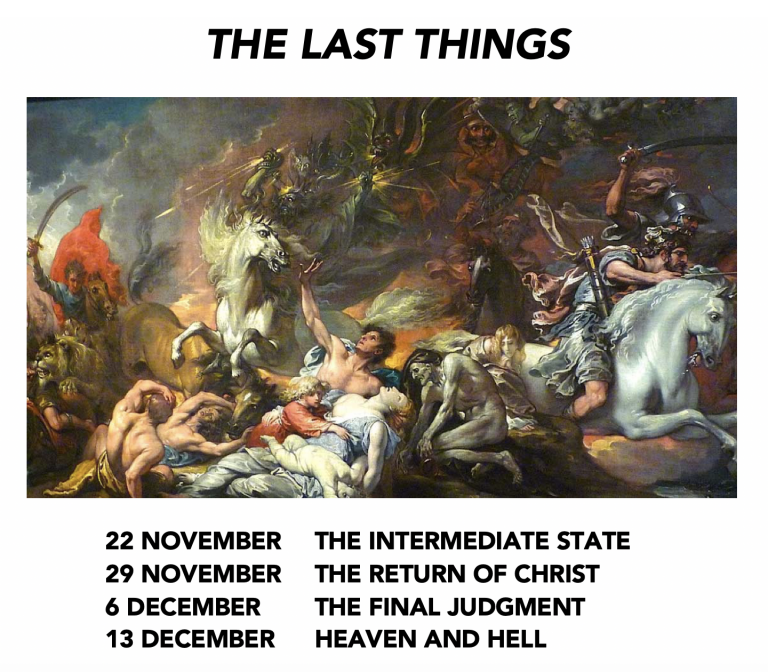 The Last Things flyer